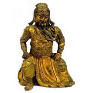 lost wax cast statue of Song dynasty